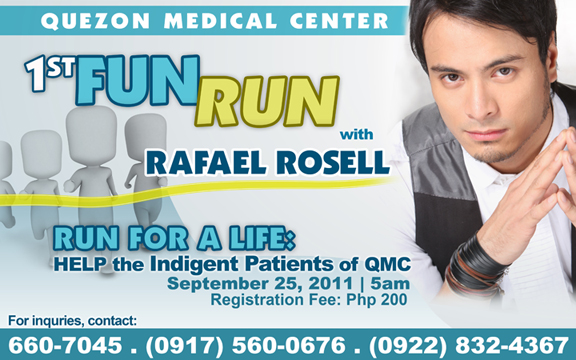 QMC Fun Run with Rafael Rosell